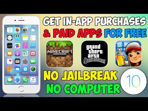 Get FREE in-App Purchases & Unlimited Coins iOS 11 / 10 & iOS 9 (NO Jailbreak & NO Computer)