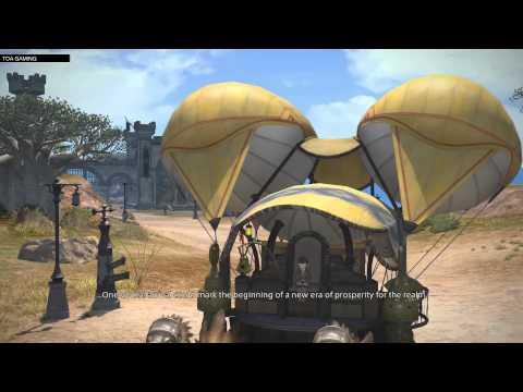 PS4 FFXIV Beta Preview