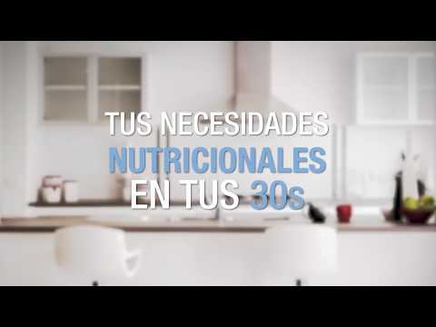 Tus necesidades nutricionales en tus 30s