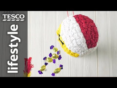 How to make a beach ball piñata | Tesco
