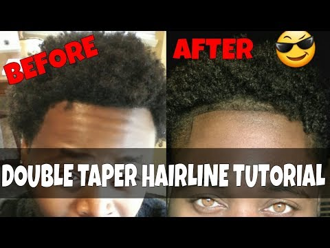 HOW TO: Faded Double HAIRLINE Tutorial!🔥