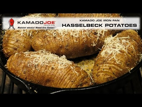 Kamado Joe Hasselback Potatoes
