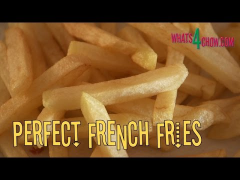 How to Make Perfect French Fries. Crispy and Lightly Golden with a Creamy Inside!!!