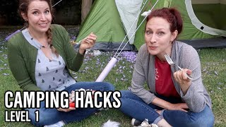 Testing CAMPING HACKS: Brilliant or Bust