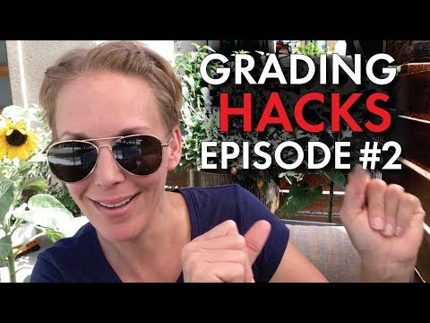 Grading Hacks #2 for Teachers, Manage & Grade Papers FASTER, High School Teacher Vlog