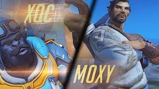 xQc vs Moxy 1v1: Overwatch Battle of the Century!