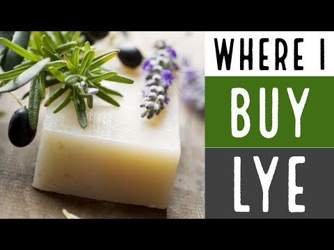 Lye Questions Answered / Where I Buy Lye for Soap Making / How To Make Soap for Beginners