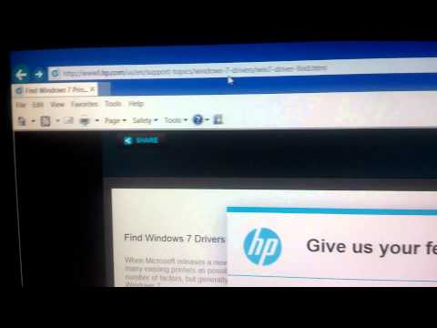 How to Install HP Printers onto Windows 8