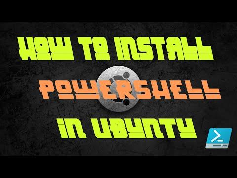 How to install Windows Powershell in ubuntu 14 04 .