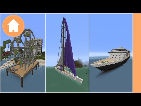 Minecraft: 10 Things to Build in Water (PC/PE/Xbox)
