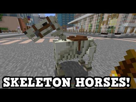 Minecraft Xbox 360 / PS3 TU46 Preview - Skeleton Horse Traps
