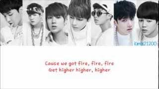 BTS (방탄소년단) - Rise of Bangtan (진격의 방탄) [Hangul/Romanization/English] Color & Picture Coded HD