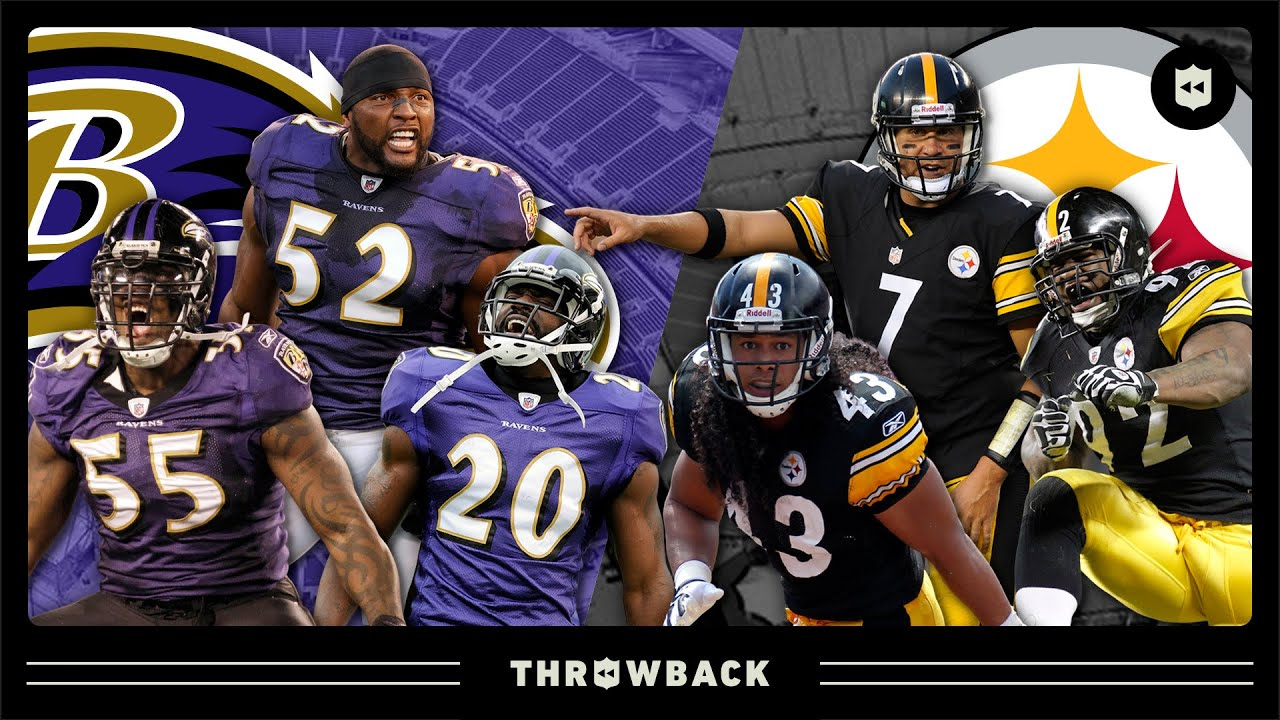 EPIC Ravens vs. Steelers Rivalry Moments! (Since 2008)