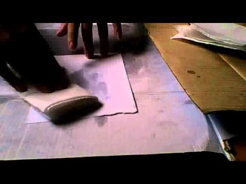 How to make tracing paper