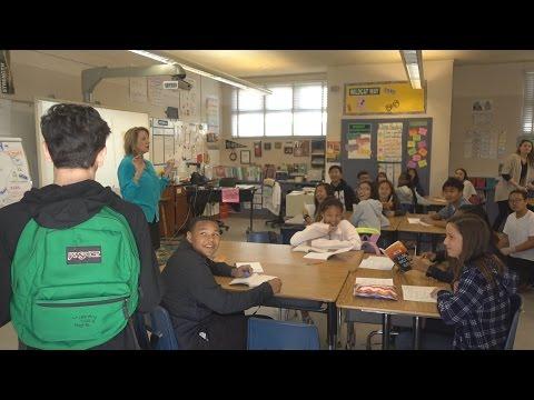 BACK TO SCHOOL PRANK!! (SURPRISING FANS IN CLASS) | FaZe Rug