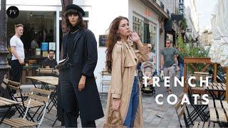 How to Wear a Trench Coat Like a Parisian | Parisian Vibe