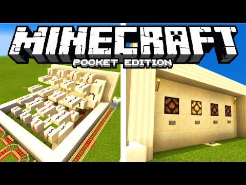 Minecraft PE: Redstone Tutorial -