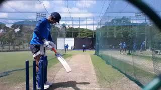 MS Dhoni sharpens batting skill before 3rd ODI against Sri Lanka