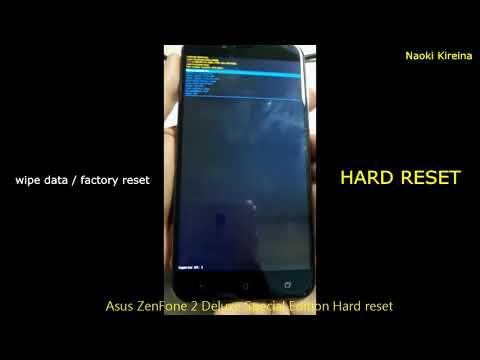Asus ZenFone 2 Deluxe Special Edition Hard reset