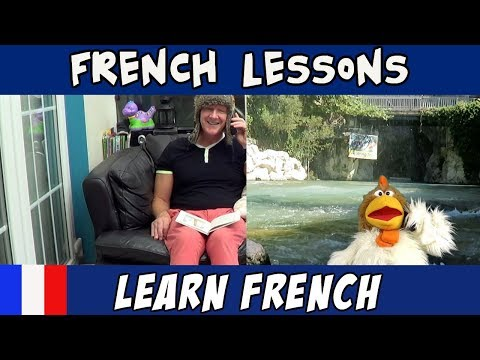 Learn French - I'm Hungry in French - French Lessons with Jingle Jeff