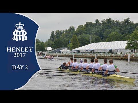 Day 2 - Morning Session Full Replay | Henley Royal Regatta 2017