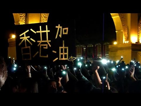Thousands rally in Taiwan to support Hong Kong protesters