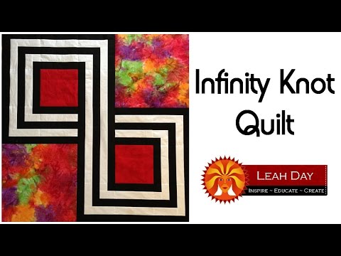 How to Make an Infinity Knot Patchwork Quilt