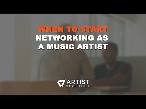 When To Start Networking As A Music Artist? | Artist Shortcut