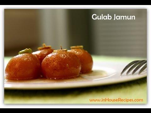 Gulab Jamun Recipe with Khoya and Chashni - Hindi with Eng Subtitles