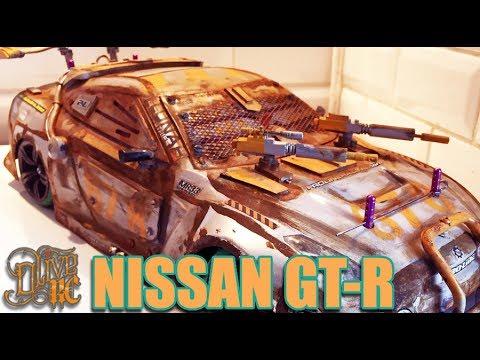 RC NISSAN MACHINE GUN GT-R (build)