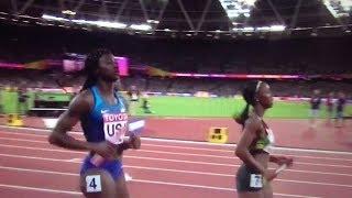 USA wins 4x100m Relay Women Final IAAF World Champs London 2017