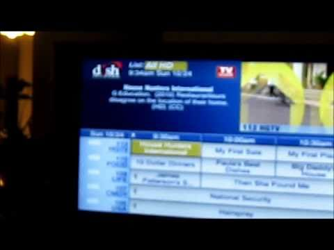 Demo of Dish TV Satellite Setup for Home