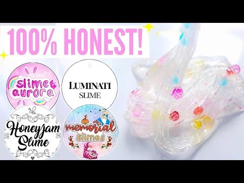 100% HONEST $200 Underrated Instagram Slime Shop Review! Non-Famous/Famous US Slime Package Unboxing