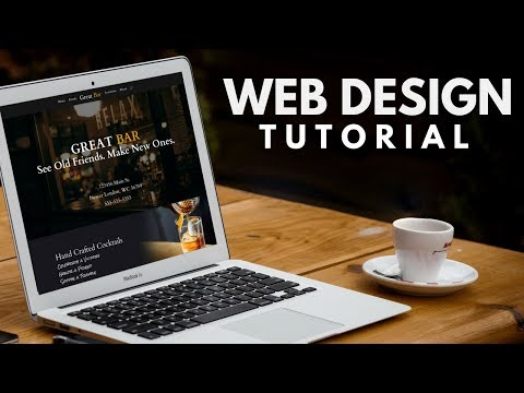 Web Design Tutorial: How To Build a WordPress Website for a Restaurant Bar a Divi Theme Tutorial