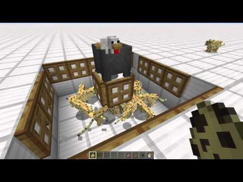 Minecraft: ocelot trap tutorial