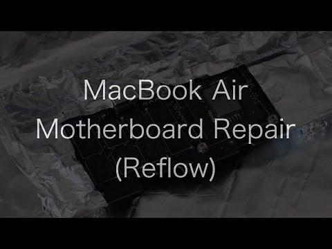 MacBook Air A1304 Not Booting (1 Beep, RAM issue) Reflow Repair!