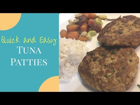 QUICK AND EASY Tuna Patties