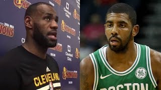 LeBron James Reveals What the Cavs Will Do for Kyrie Irving