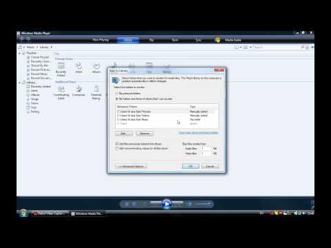 How to setup Media Server for PS3.avi