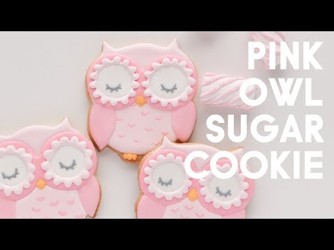 Sugar Cookie Decorating - Owl Cookie Tutorial