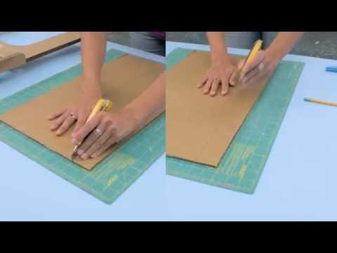 03.1 - Cutting Basics - Cutting with a utility knife