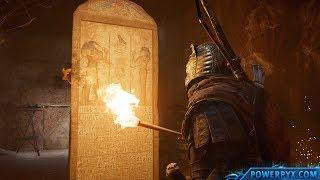Assassin's Creed Origins - Tomb of Menkaure Walkthrough & Location (Pyramid of Menkaure Tomb)