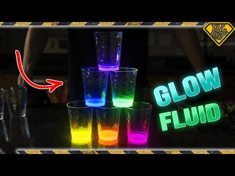 Dish Soap vs Glowsticks