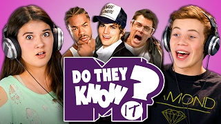 DO TEENS KNOW 2000s TV SHOWS? (MTV Edition) (React: Do They Know It?)