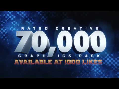 Rated's 70,000 Subscribers Graphics Pack!