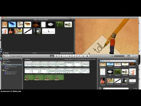 Downloading iPhoto images into iMovie
