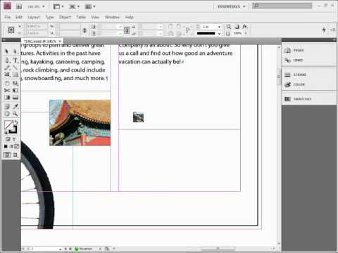 The Best Way to Get images to fit as you place them in Adobe InDesign