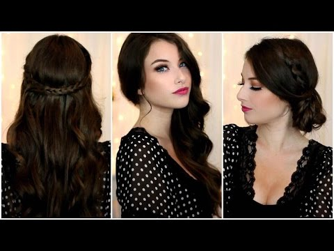 Quick and Easy Prom Hairstyles!| Kelly Nelson