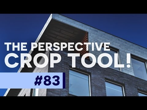 The Perspective Crop Tool! - Photoshop CC Tutorial