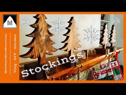 How to Make Stocking Hangers